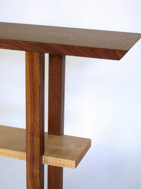 Narrow Entry Table Wood Console For Hallway Or Small Entry 8 Inch Small Table Minimalist