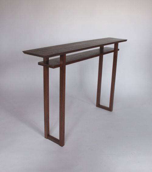 classic console table narrow tables for hallway spaces