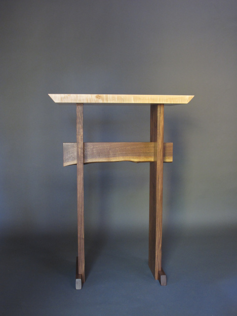 Stand Up Desk Modern Wood Writing Desk Tall Desk For
