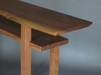 Small Console Table Or Narrow Hall Table With Inset Shelf
