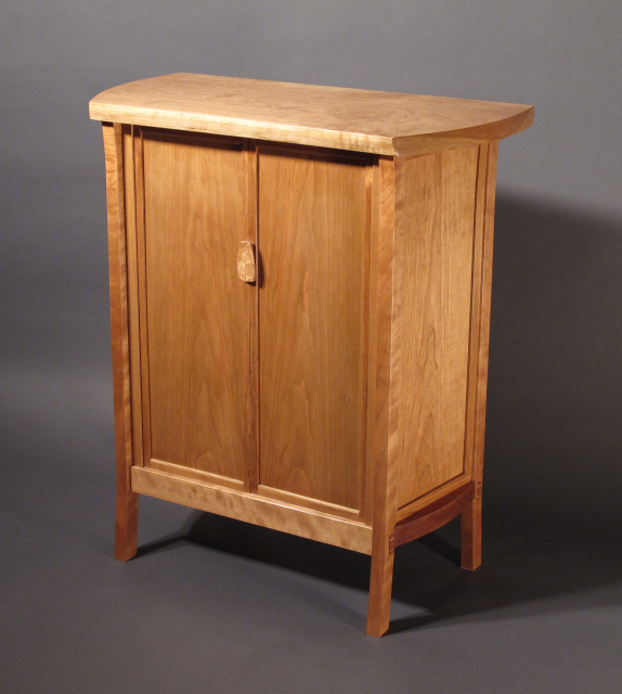 cherry cabinet, accent cabinet or bar cabinet