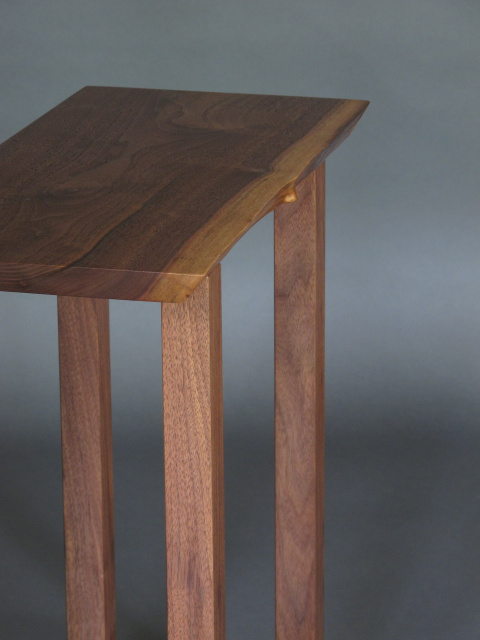 Small Narrow Table Modern Wood Furniture Narrow End